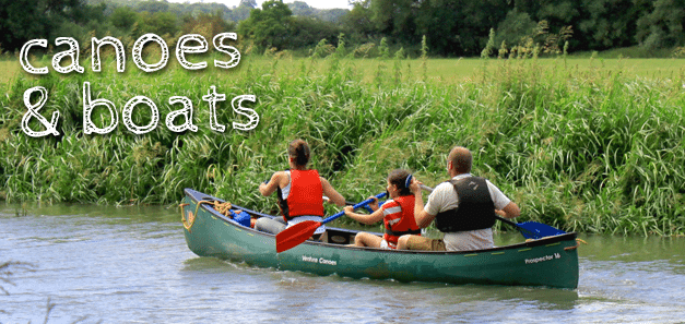 Canoes & Boat Activities, Barefoot Campsites, Appleton.