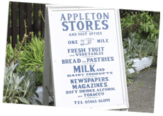 Appleton Village Shop, Barefoot Camping, Appleford