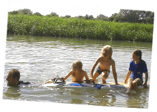 Wild Swimming at Barefoot Campsites, Appleton