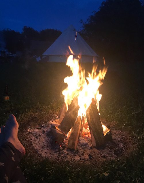 Campfire Facilities, Barefoot Campsites, Appleton